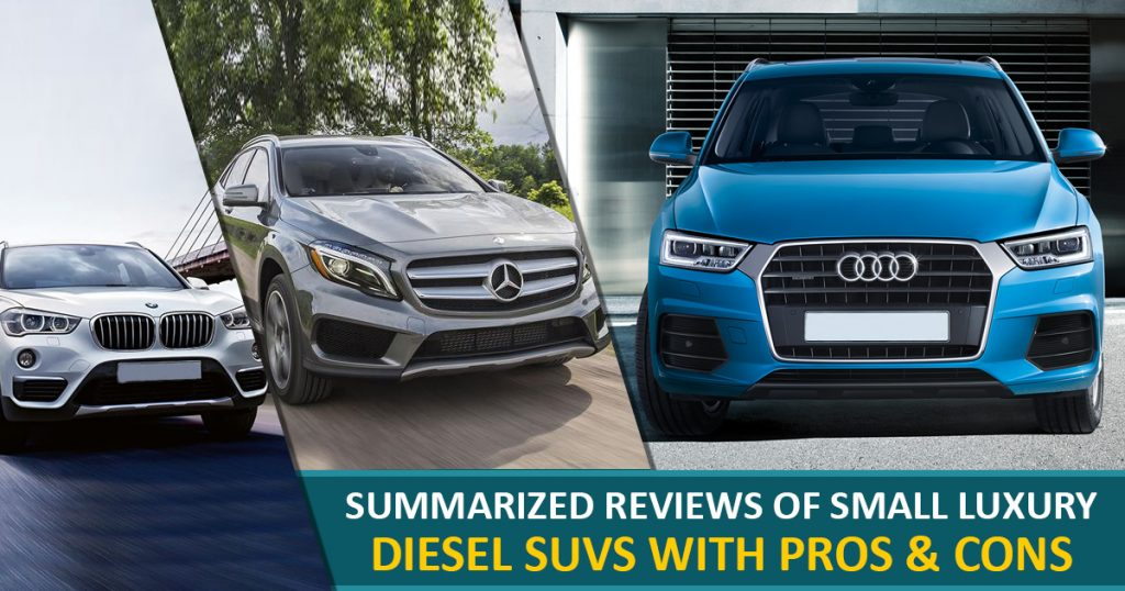 Summarized-Reviews SUVs