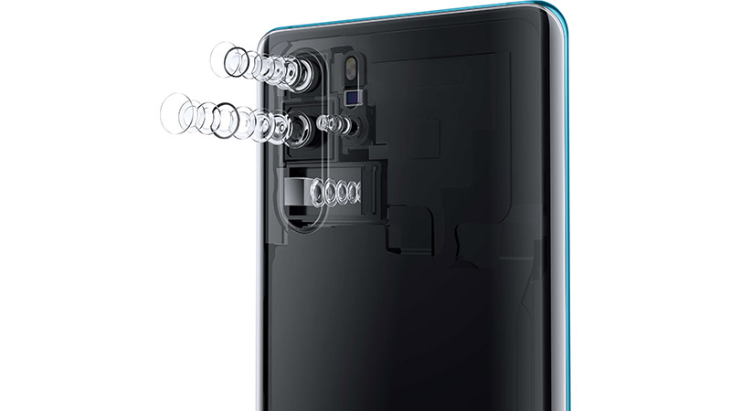 Huawei P30 and P30 Pro cameras