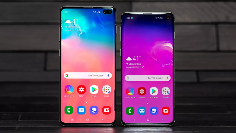 Samsung Galaxy S10 and Galaxy S10 Plus