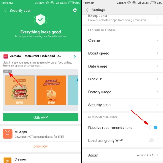 How to Remove Ads and Bloatware in MIUI Apps | SAGMart