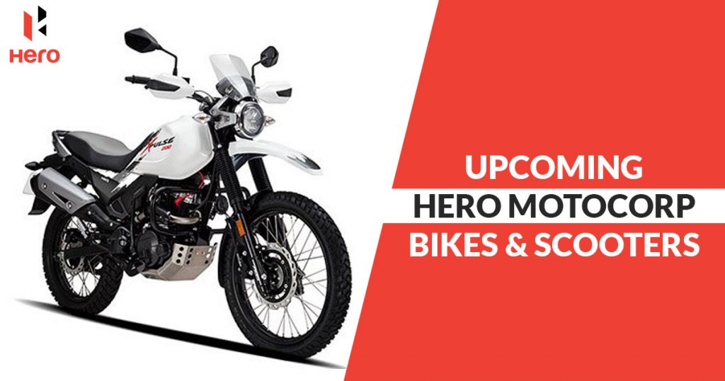 Upcoming Hero Motocorp Bikes and Scooters