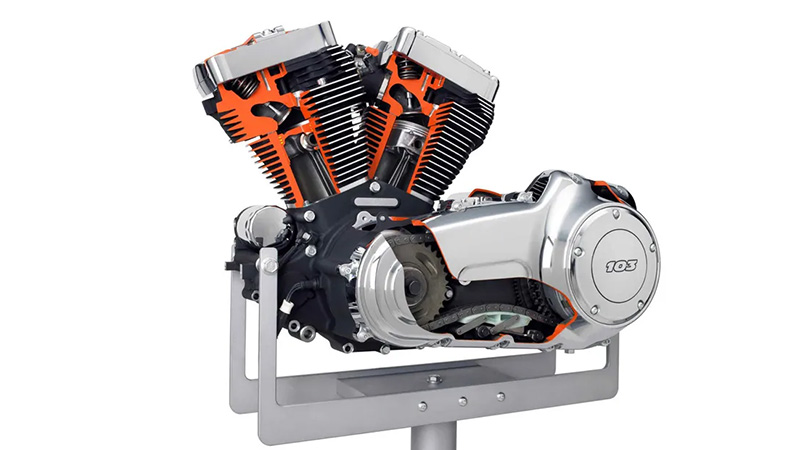 V Twin Engine
