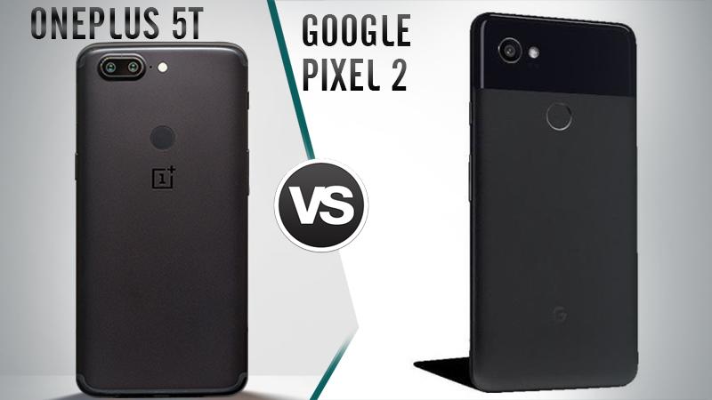OnePlus 5T V/S Pixel 2 Design